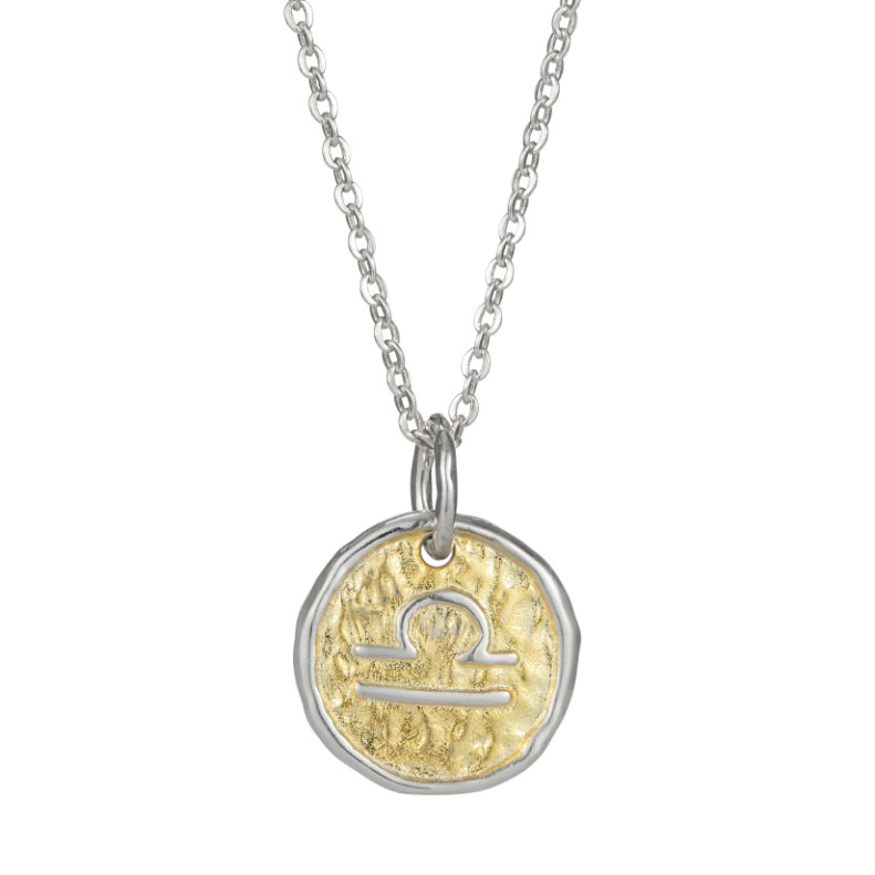 European Zodiac Libra Pendant