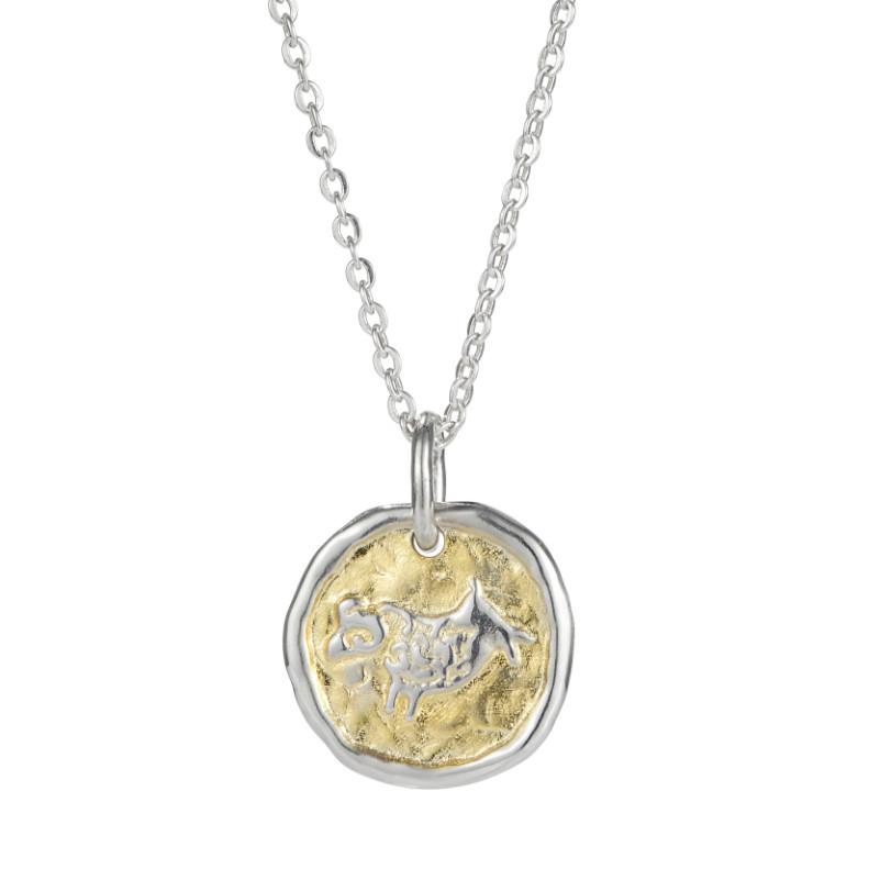 European Zodiac Aries Pendant