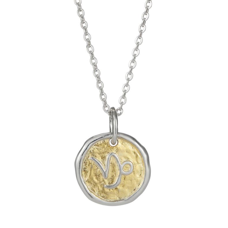 European Zodiac Capricorn Pendant