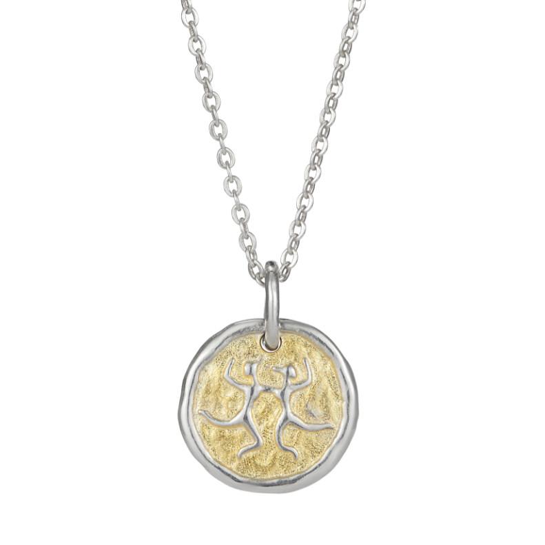 European Zodiac Gemini Pendant