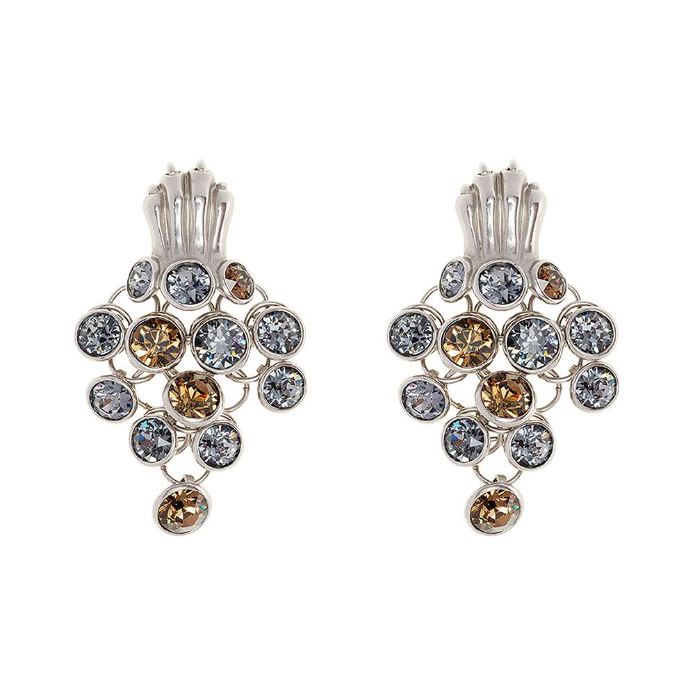 Dionysus Leopard Earring - Silver