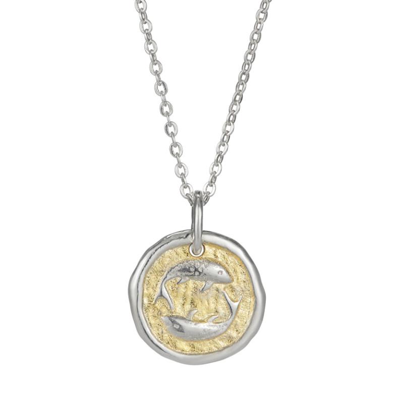 European Zodiac Pisces Pendant
