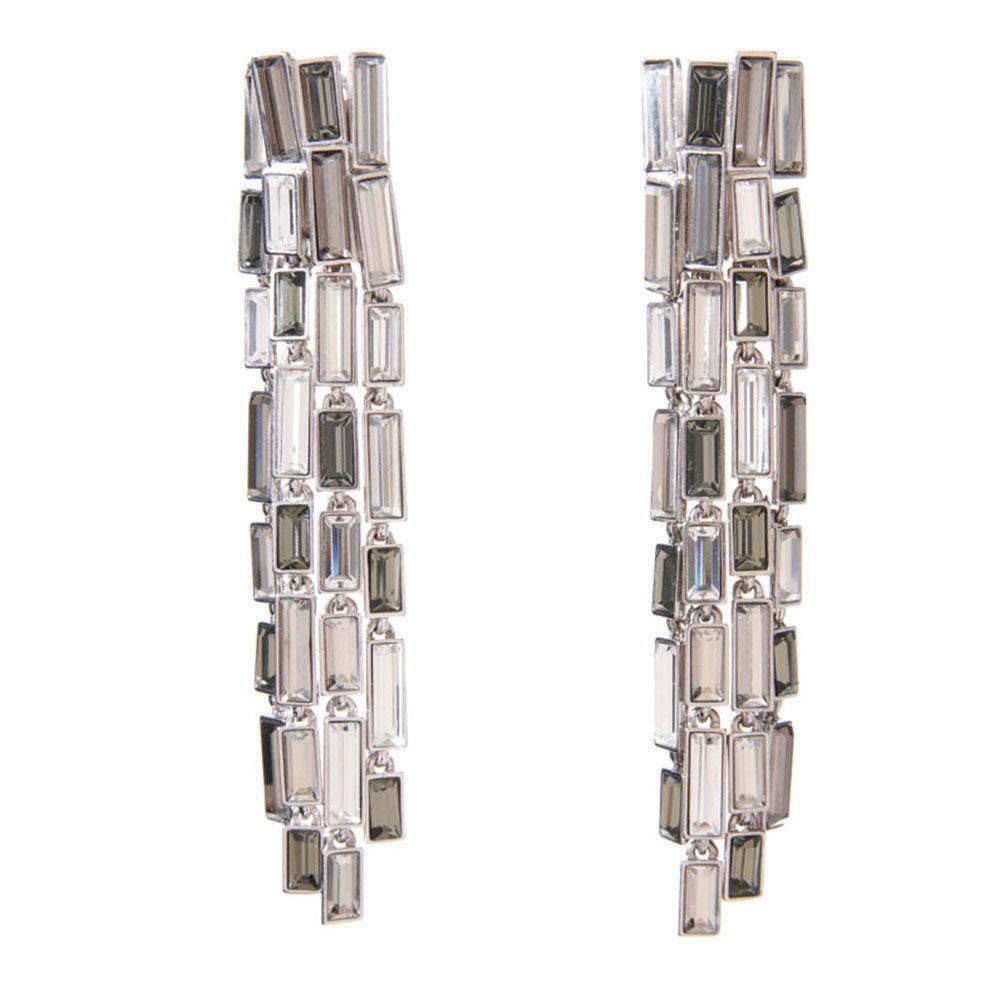 Caddis Multi Baguette Long Earring