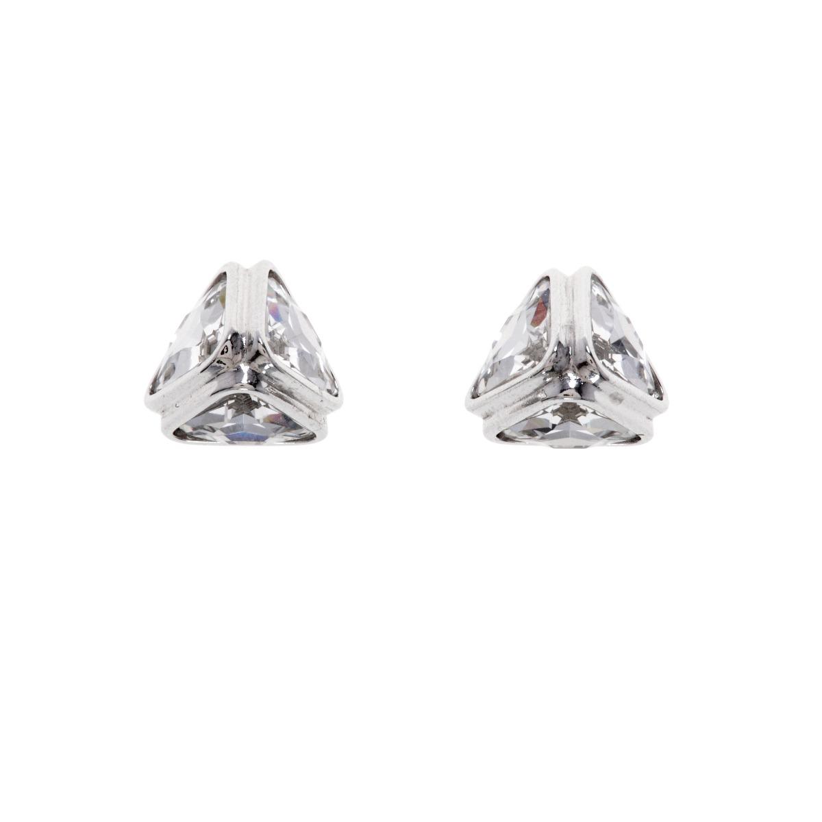 Ice Flow Crystal Stud Earring