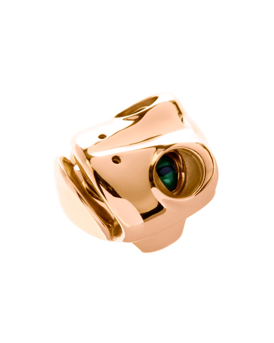 Dionysus Frog Ring - Gold - Medium