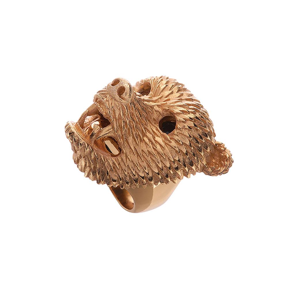 Dionysus Bear Ring - Large