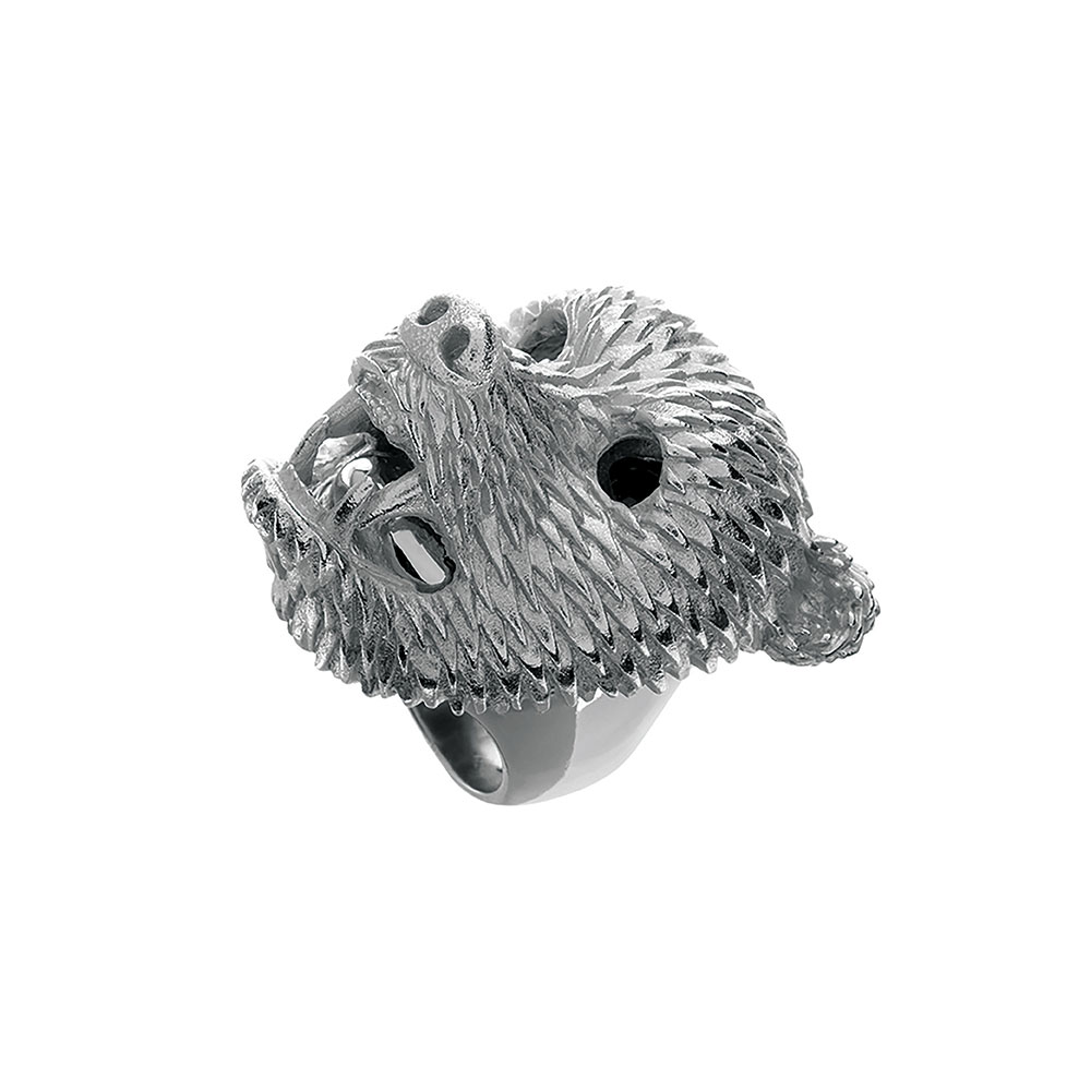 Dionysus Bear Ring - Small