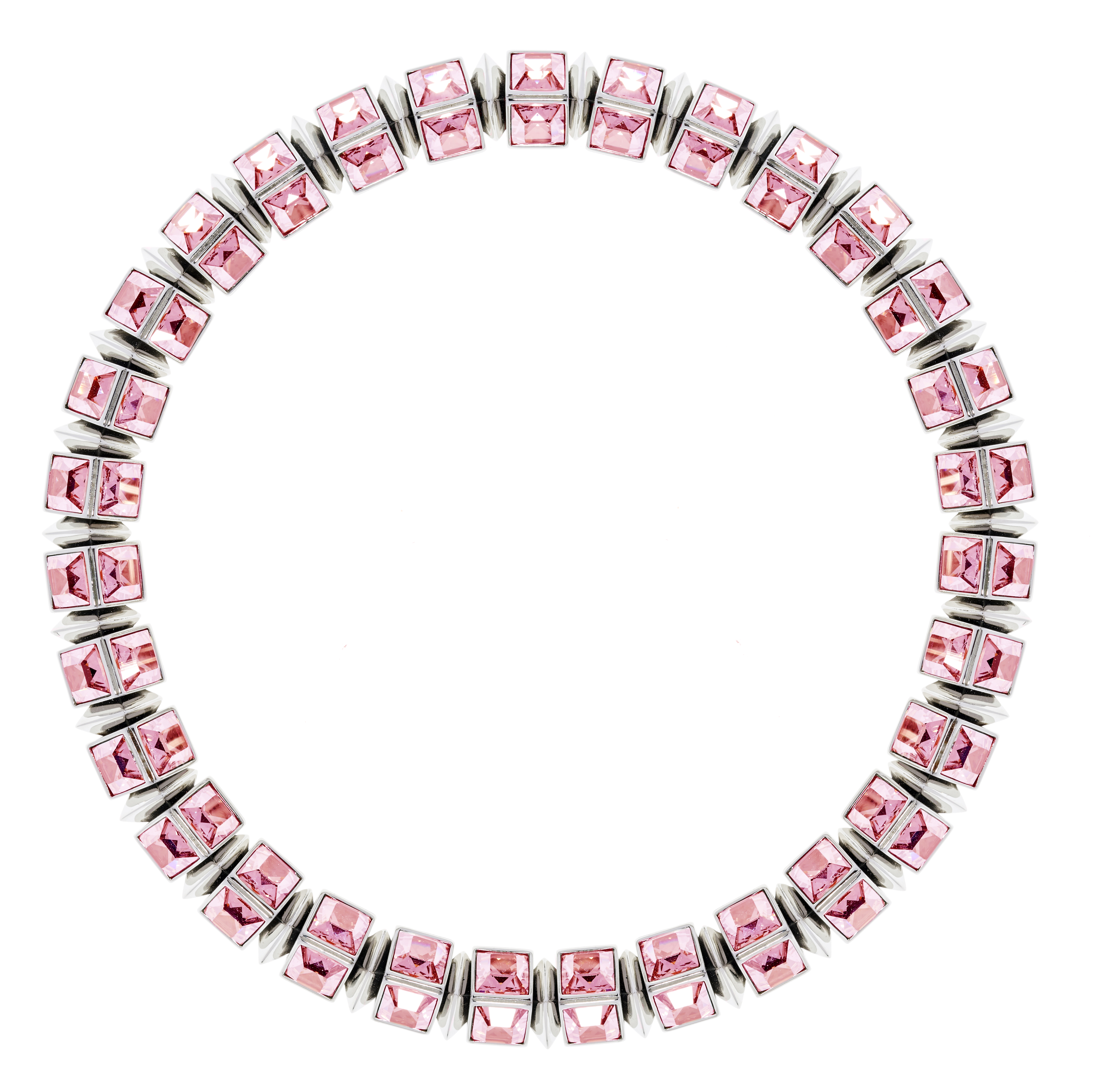 Hannah Necklace - Light Pink