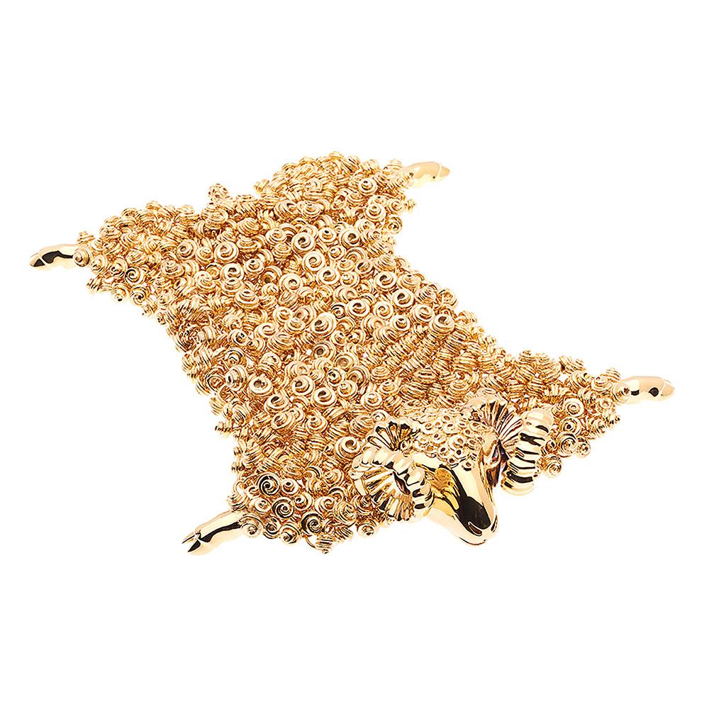 Dionysus Ram Bracelet - Gold - Medium