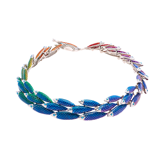 Electra Necklace - Rainbow - Large