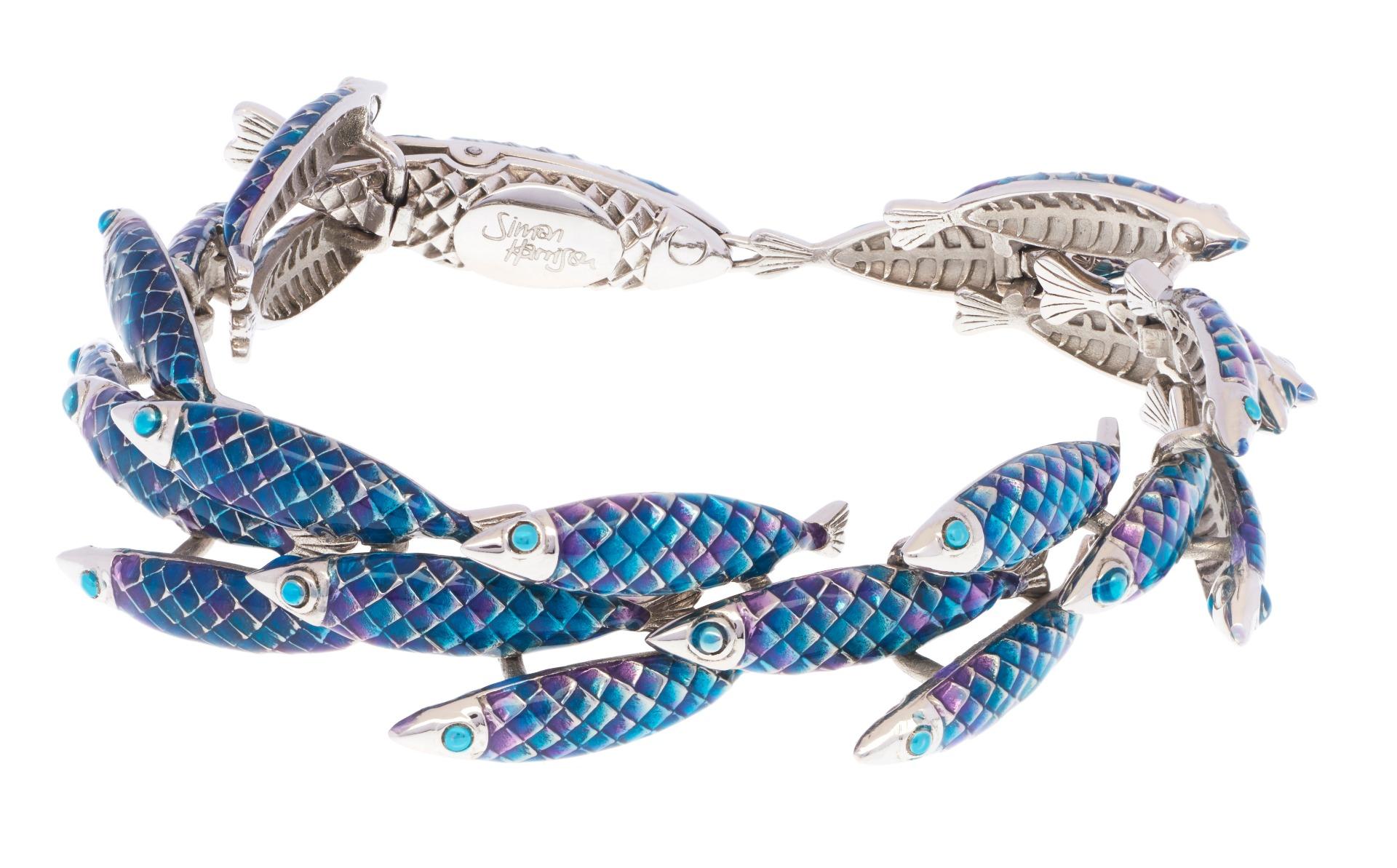 Electra Bracelet - Blue - Small