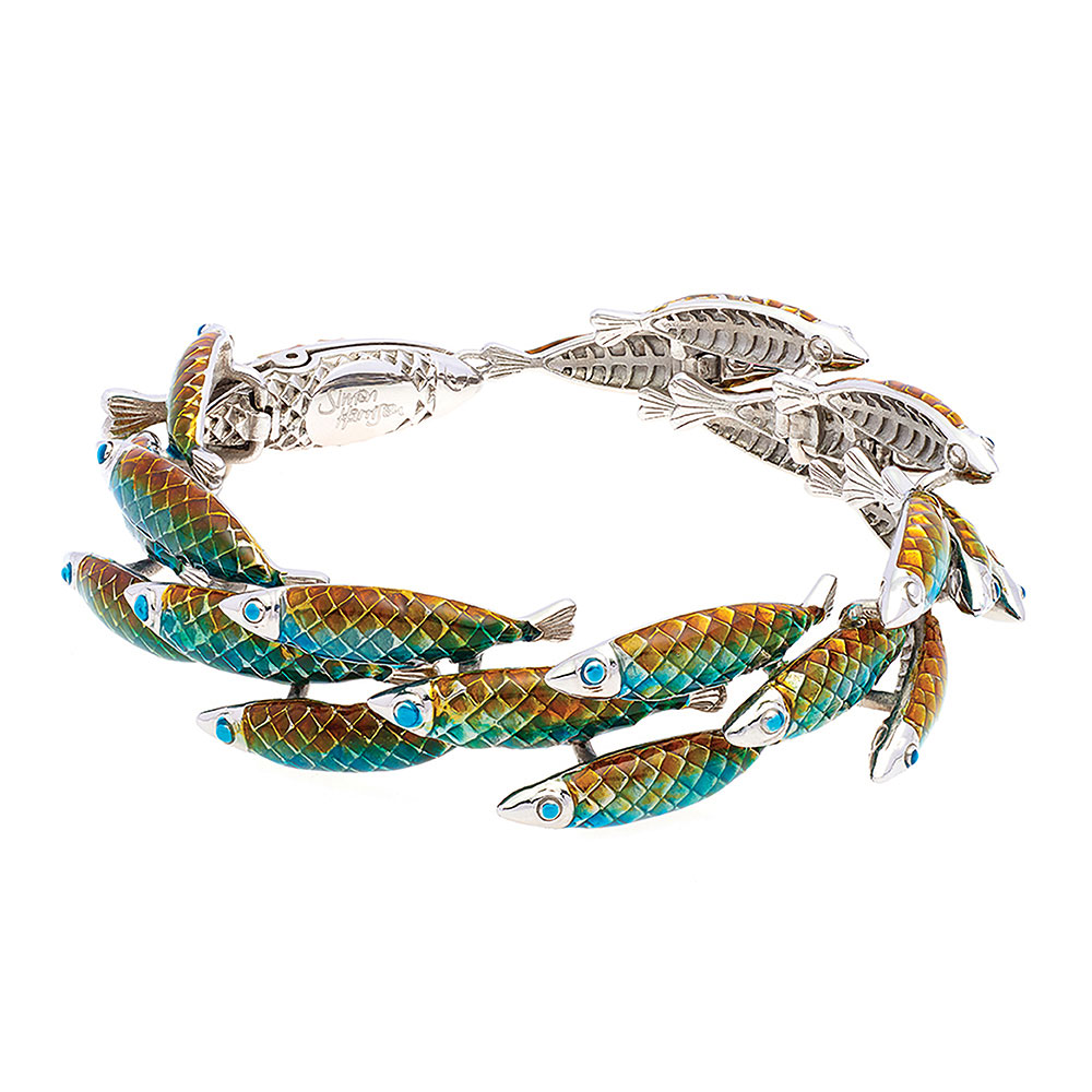 Electra Bracelet - Green - Small