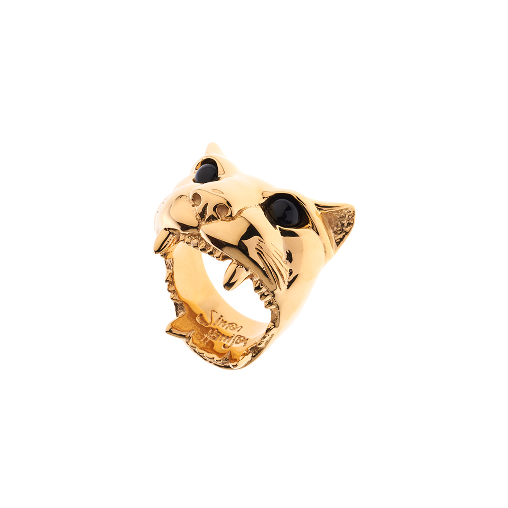 Dionysus Jaguar Ring - Medium