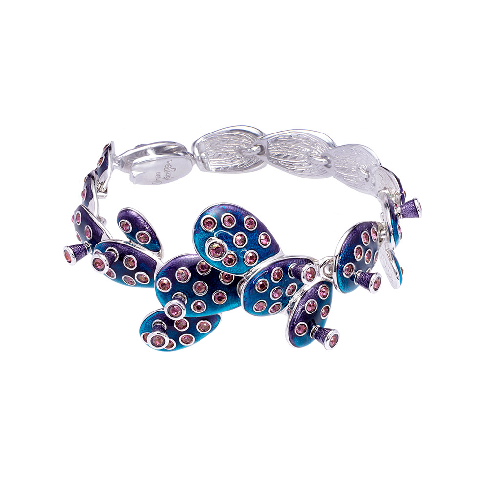 Kahlo Bracelet - Blue - Medium