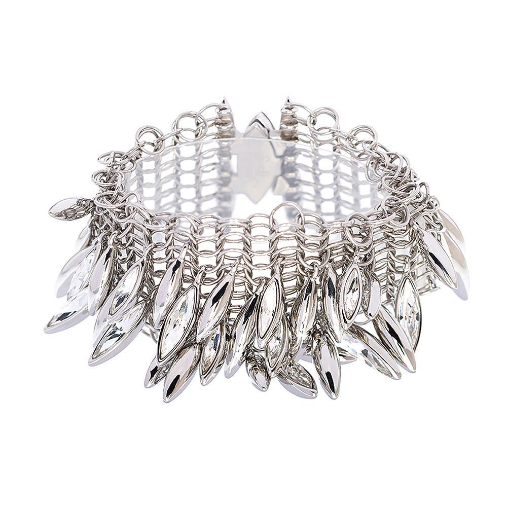 Minerva Navette Cluster Bracelet - Large