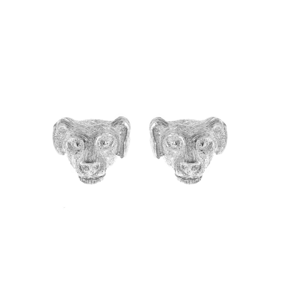 Zodiac East Dog Earring