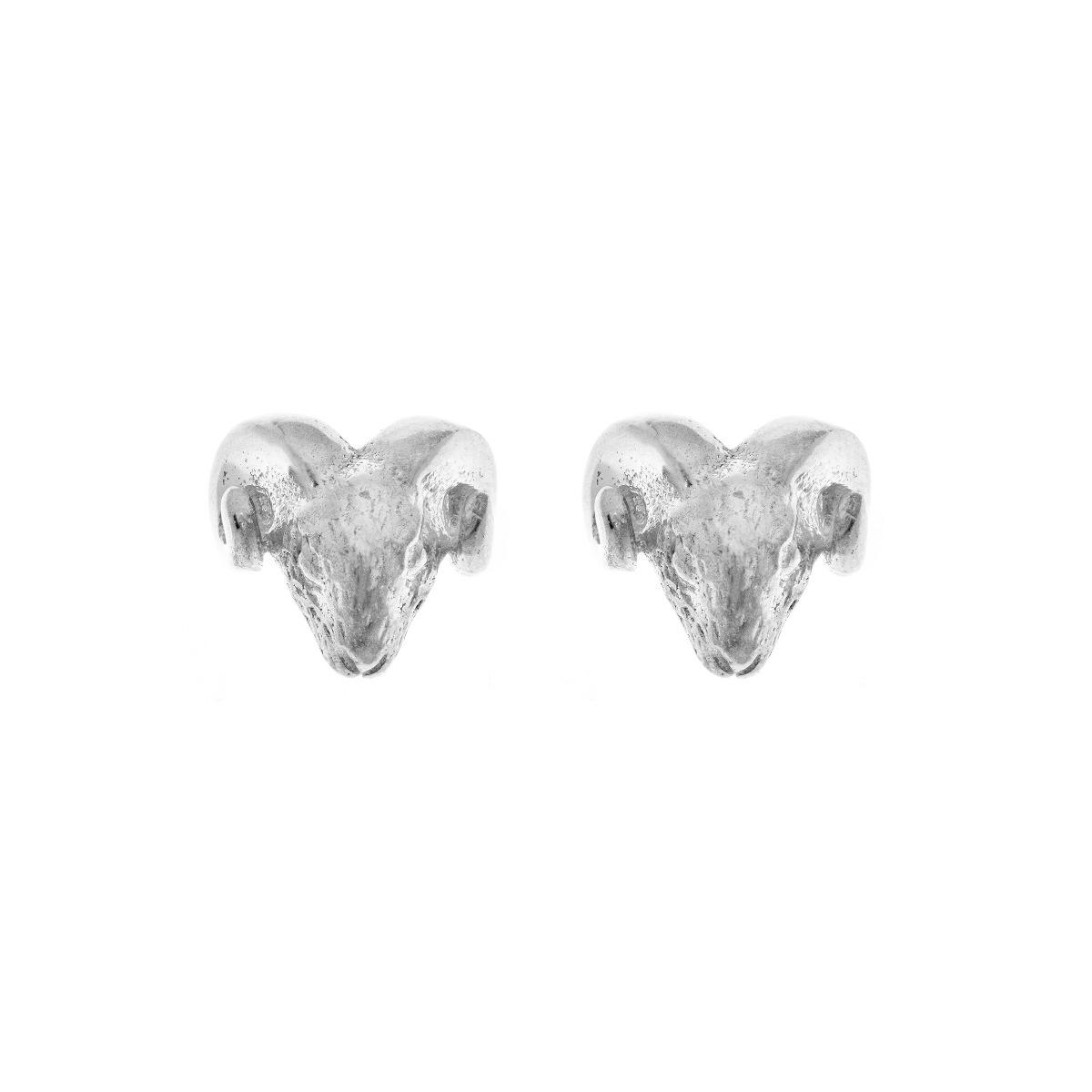 Zodiac East Ram Earring