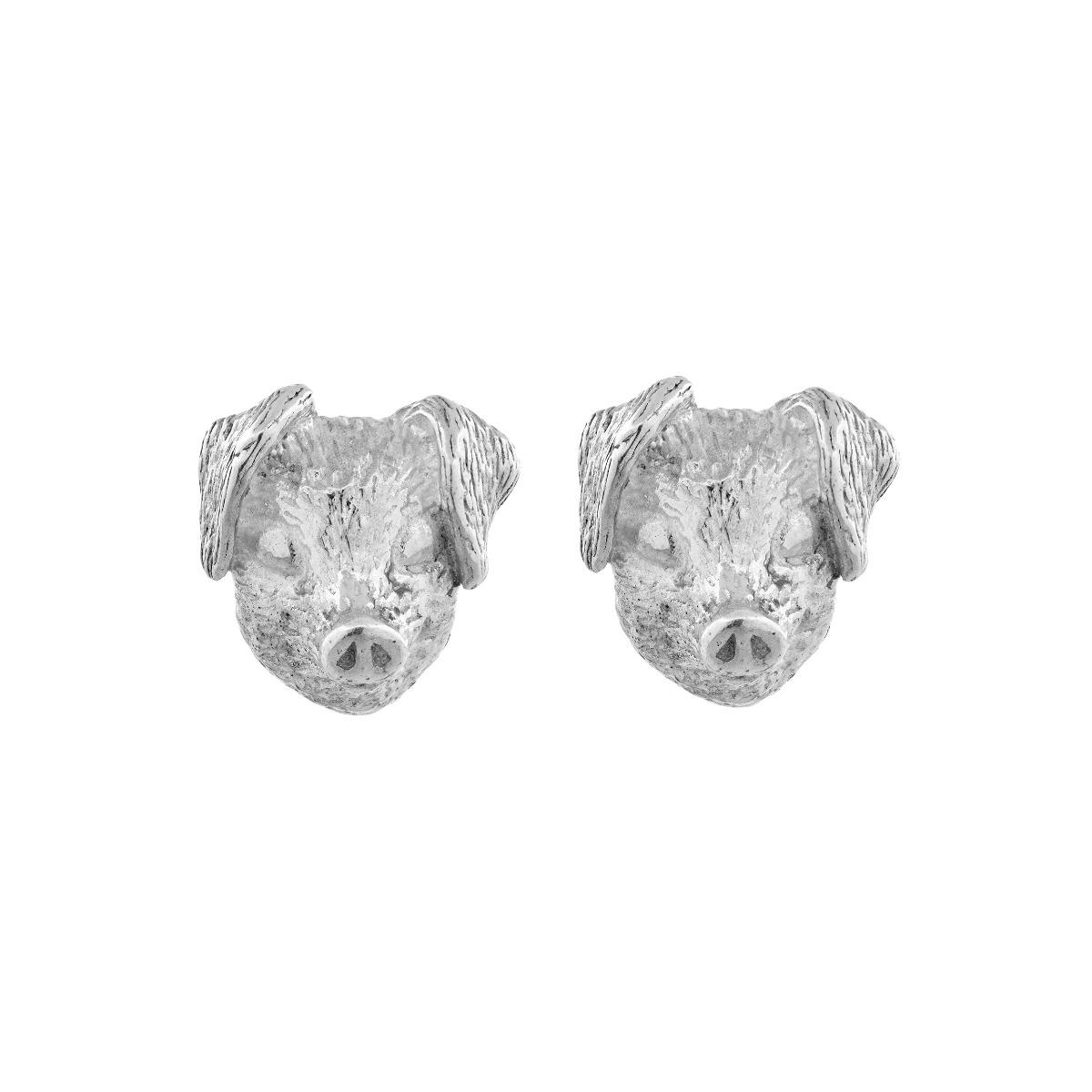 Chinese Zodiac Pig Earring