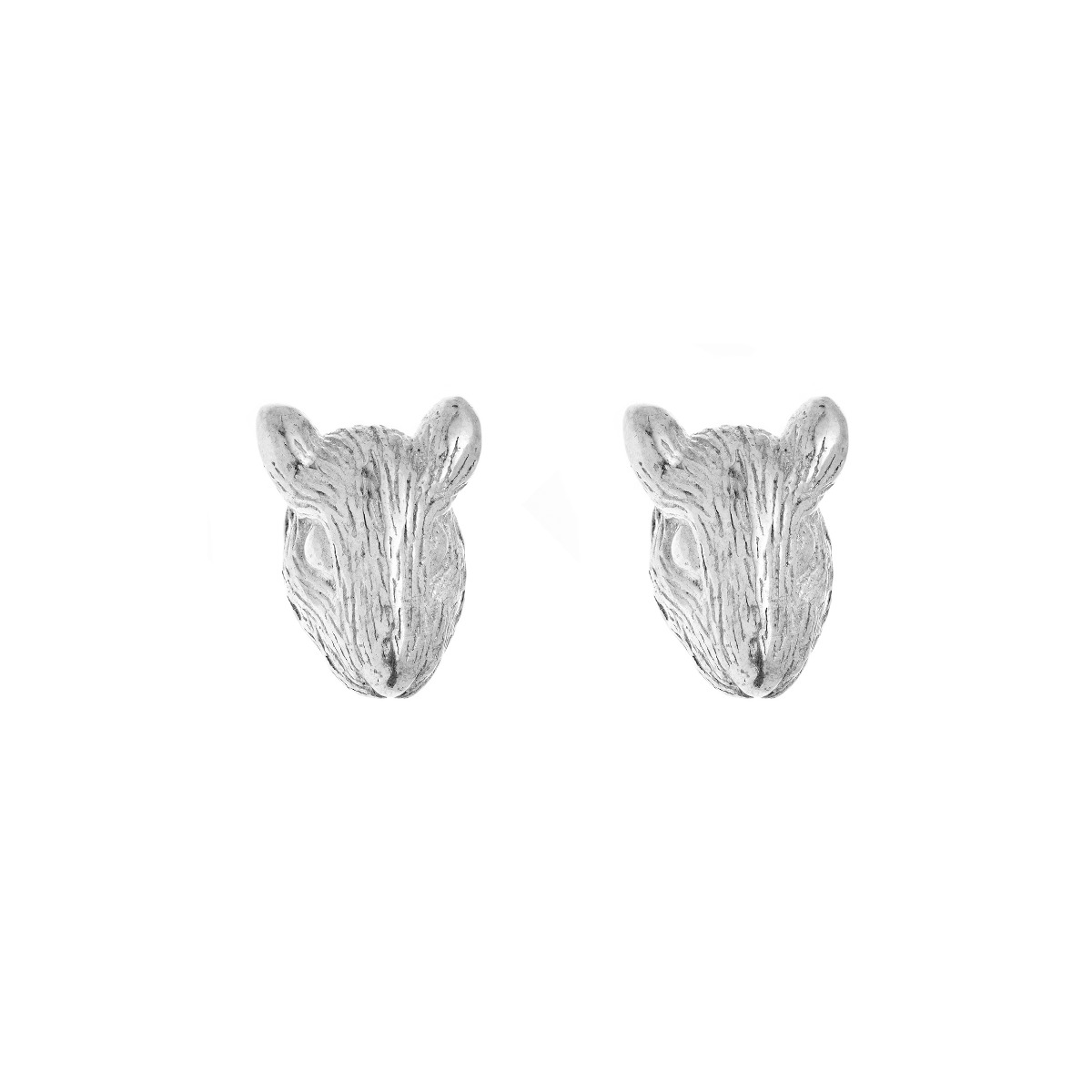 Chinese Zodiac Rat Earring