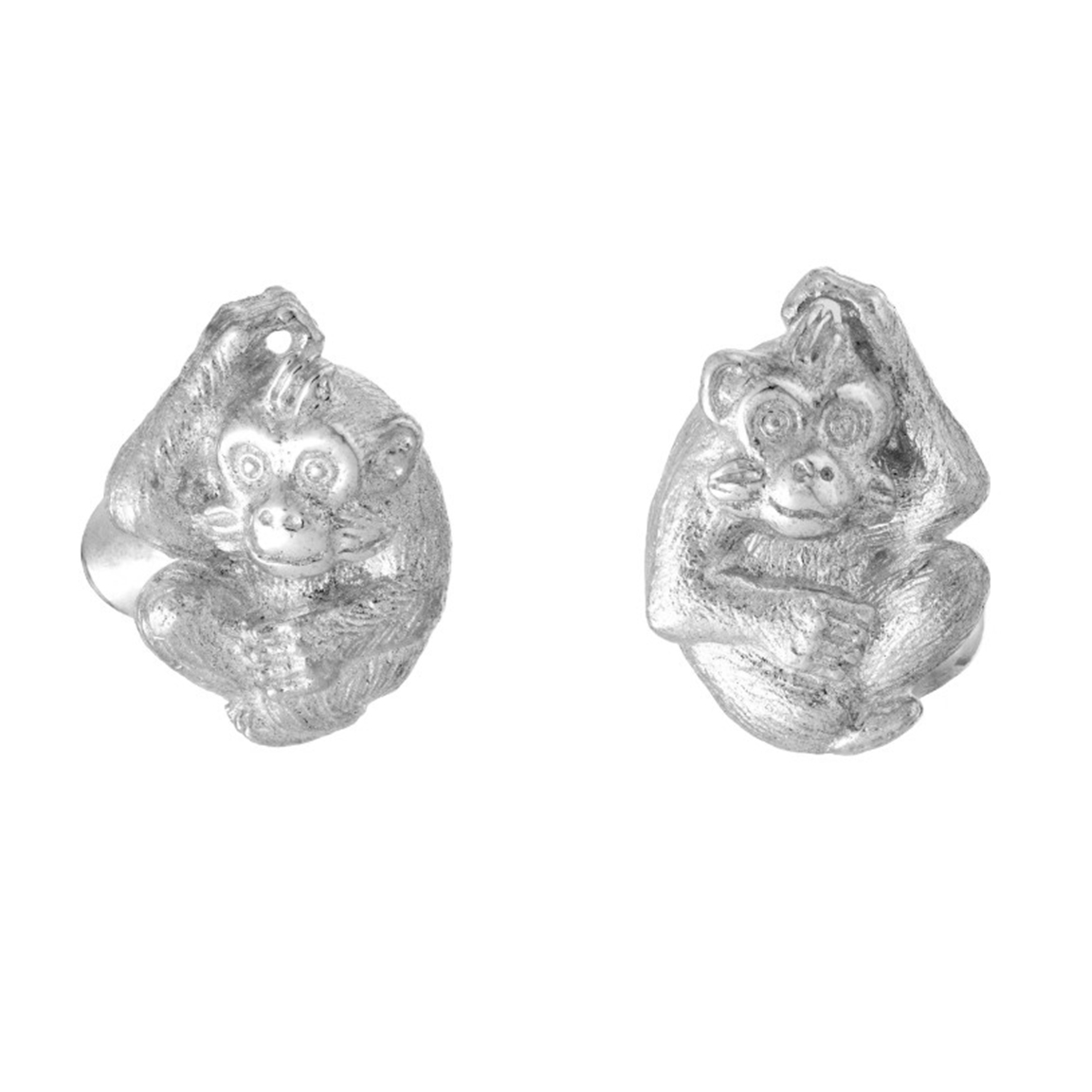 Zodiac East Monkey Cufflink