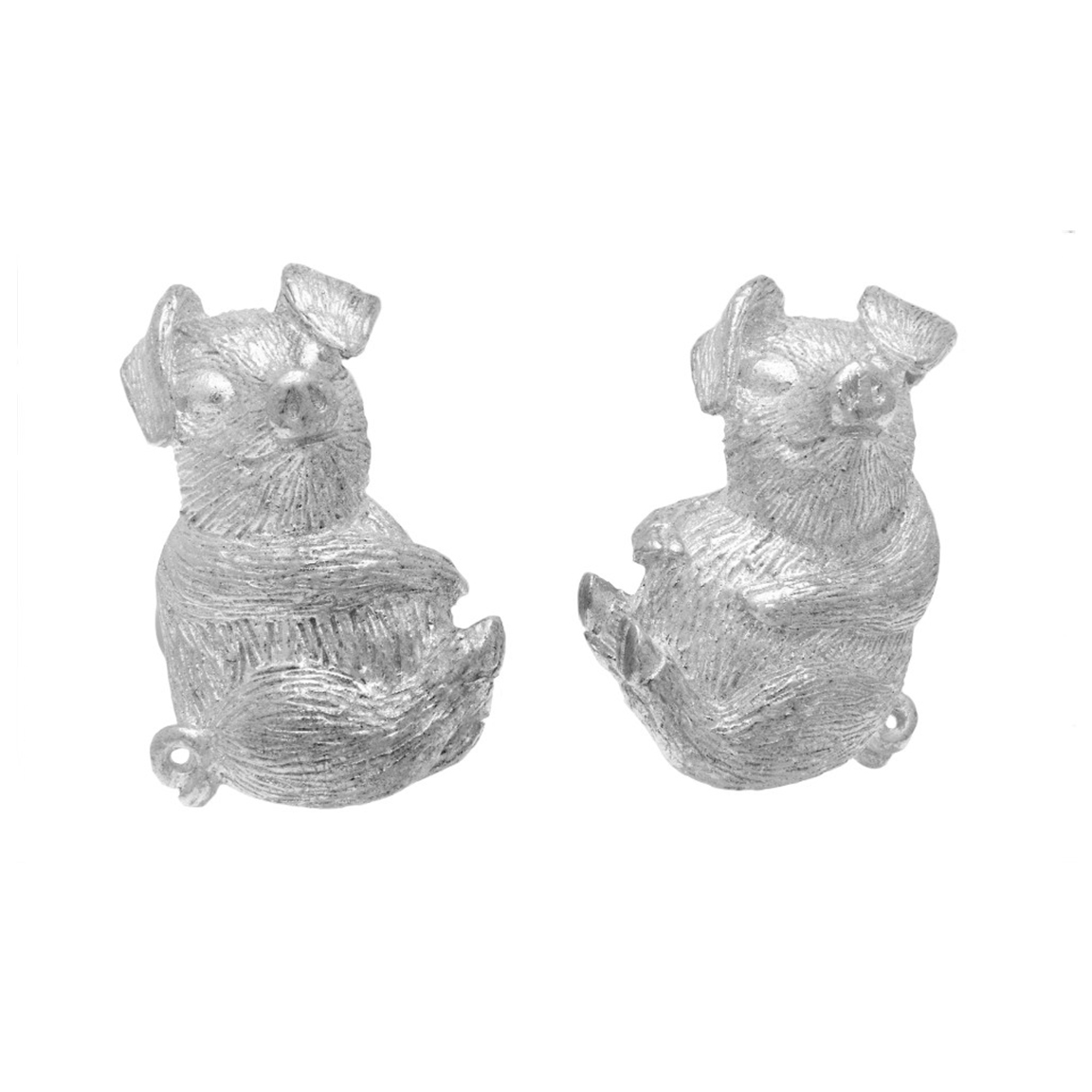 Chinese Zodiac Pig Cufflink