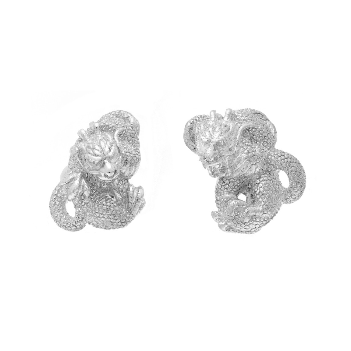 Chinese Zodiac Dragon Cufflink