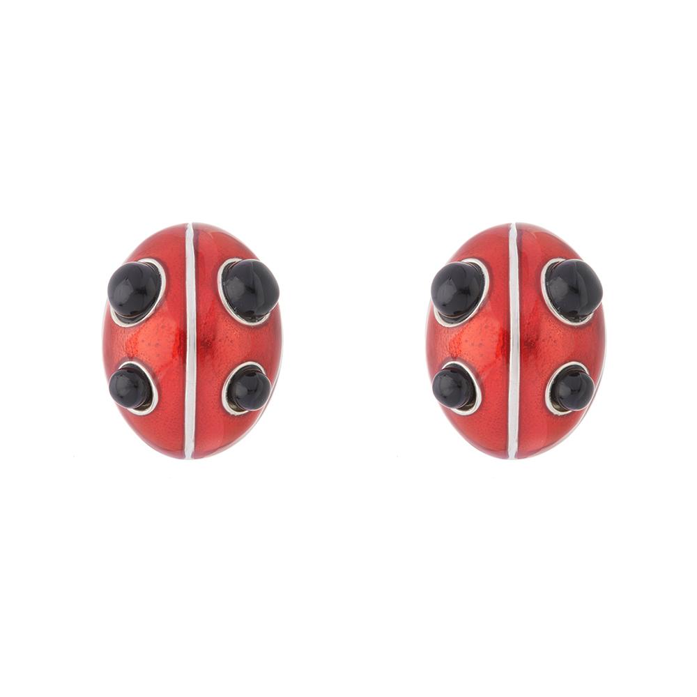 Ladybird Stud Earring