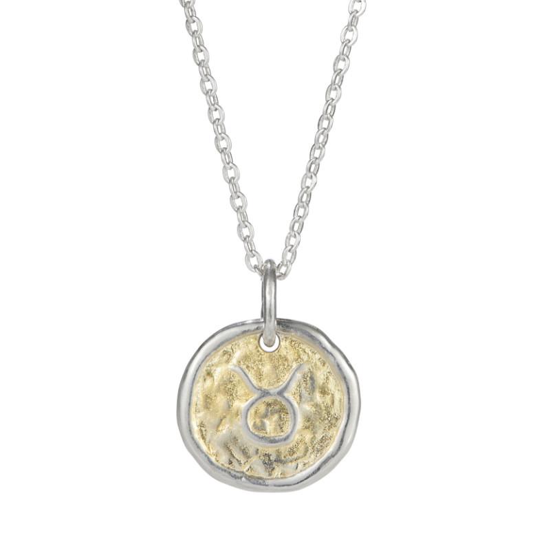 European Zodiac Taurus Pendant