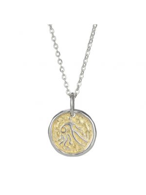 European Zodiac Aquarius Pendant