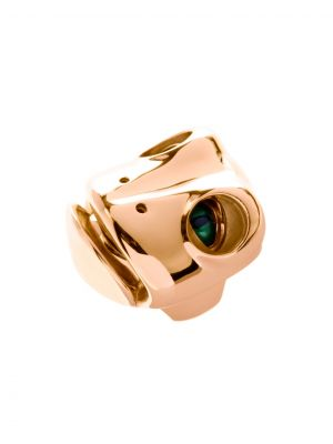 Dionysus Frog Ring Gold