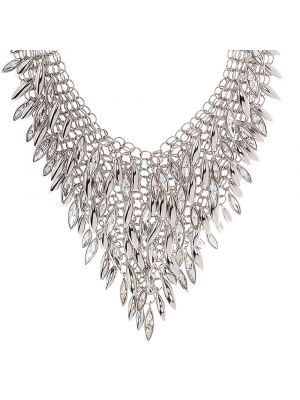 Minerva Clustered Navette Chainmail Necklace
