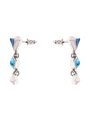 Tamara Enamel Drop Earrings Blue