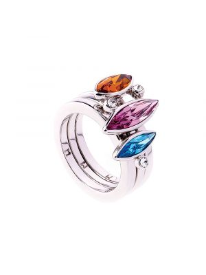 Aquarius Ombre Crystal Stacking Rings set