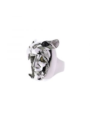 Dionysus Leopard Ring Silver
