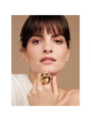 Dionysus Leopard Ring Gold