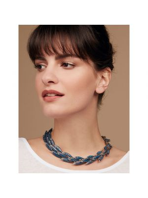 Electra Necklace Blue