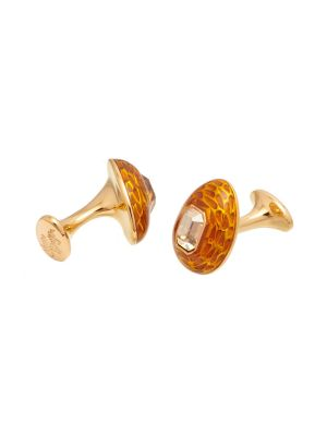 Mock Turtle Cufflink - Golden Shadow
