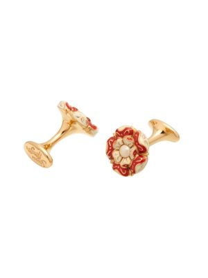 Tudor Rose Small Cufflink