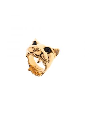 Dionysus Jaguar Ring Gold