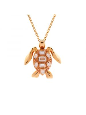 Mock Turtle Small Pendant - Gold
