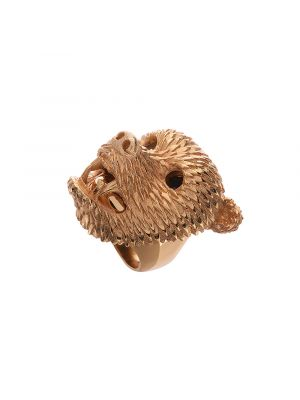 Dionysus Bear ring Gold