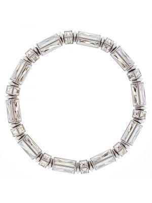 Hannah Baguette Necklace - Clear