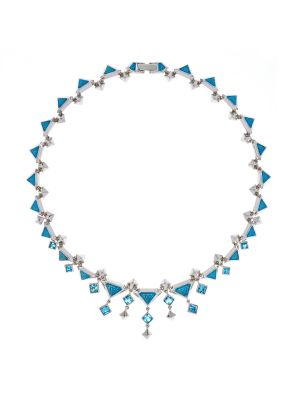 Tamara Necklace Blue