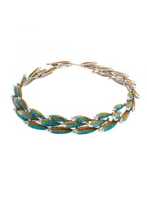 Electra Necklace Green