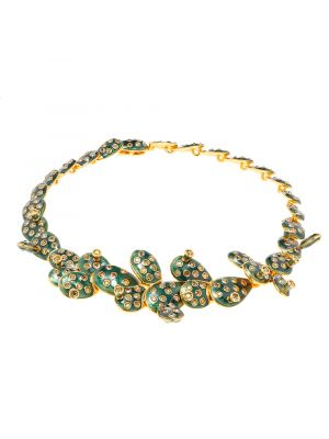 Kahlo Necklace Green
