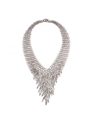 Minerva Navette Chainmail Necklace