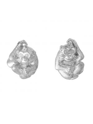 Zodiac East Monkey Cufflink